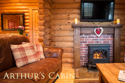 luxury log cabin with hot tub northumberland