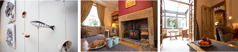 Cosy holiday cottage in Warkworth Northumberland where pets are welcome