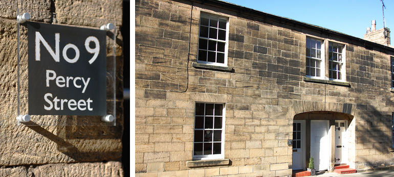 luxury period holiday cottage in alnwick northumberland near the castle