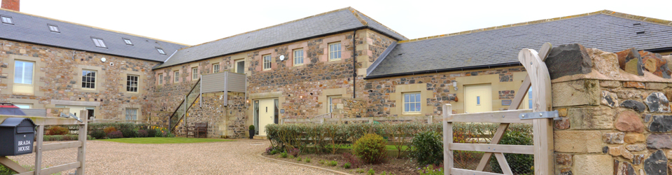 Brada House in Bamburgh - Luxury Family Holiday Cottage where pets are welcome and near the beach