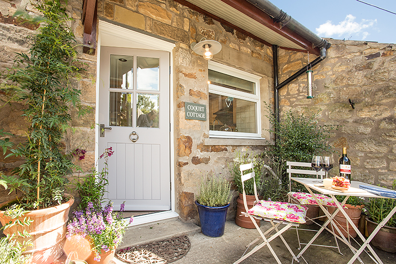 pet-free luxury holiday cottage in northumberland near rothbury and alnwick