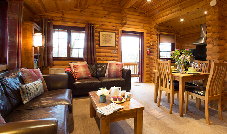 kates cabin in northumberland, luxury log cabin with hot tub children friendly holidays
