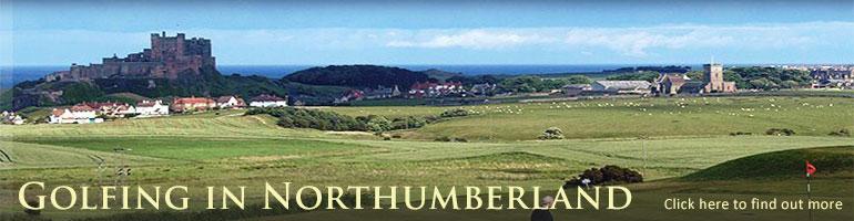 golf in northumberland burgham golf club links golf courses near alnwick bamburgh golf club