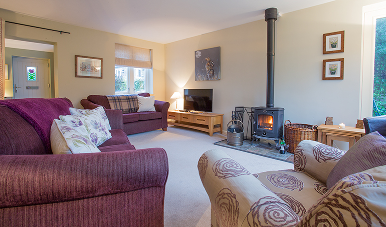 Holiday cottages in Northumberland in walking distance to a pub near Alnwick