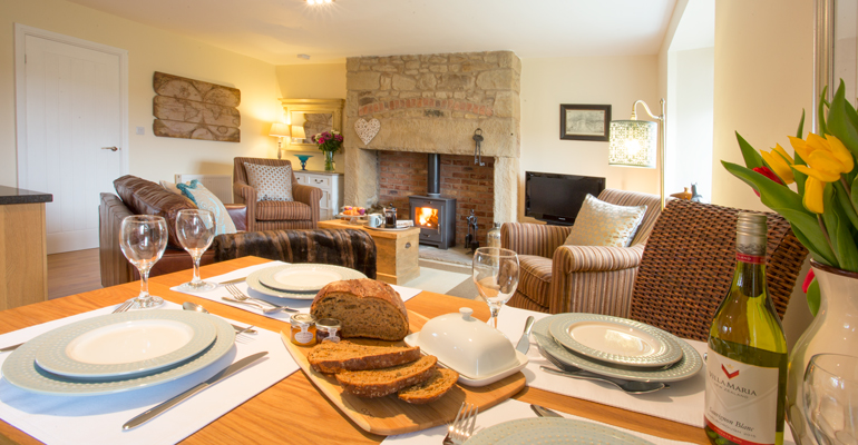 luxury 5 star holiday cottages in Northumberland, holiday cottages in Alnwick, Northumberland, pet-friendly holiday cottages in Warkworth, cottages close to the beach Northumberland