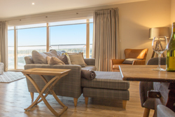 breakwater in amble, luxury holiday apartments by the sea