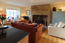 dove cottage near warkworth, cosy cottages for couples, romantic breaks in northumberland, cottages with wood burners
