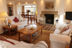 moorlands at newton on the moor, luxury spacious holiday cottage with wood burning stoves for families, dog friendly enclosed garden, the cook and barker