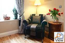 nursery cottage in alnwick, cosy cottages for couples in alnwick, cottages near alnwick gardens, holiday cottages with gardens, holiday cottages for couples, romantic holiday cottages