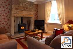 oak cottage in lesbury, pet free cottages, cottages for people with allergies, holiday cottages in northumberland with real fire, cottages for couples, cosy country cottages in northumberland
