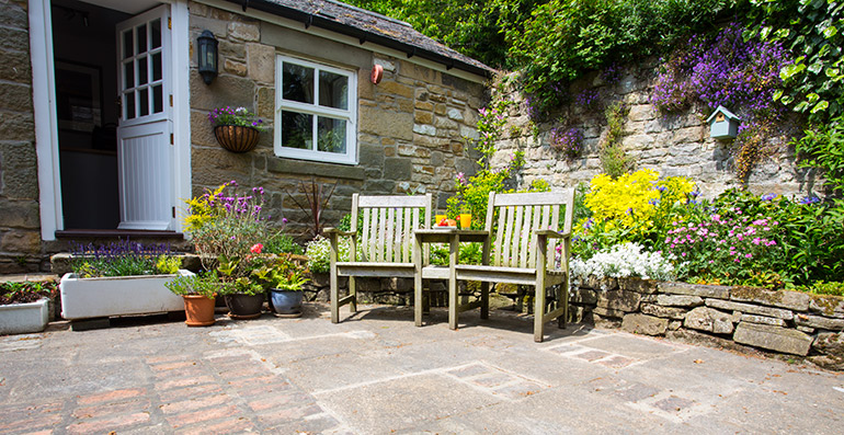 orchard house barn pretty country cottage for couples, luxury holiday cottages in northumberland