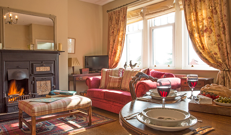 The cosy lounge is gorgeous for a few board games. a large glass of red and to kick back, with the roaring fire on and a good film, how can this be beated? Otterburn is a great location for walking and the cottage is pet friendly too, Kielder is easily accessed from Otterburn as the cottage is on the edge of the National Park
