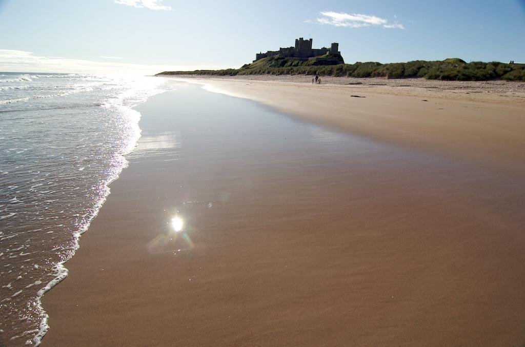 Image result for bamburgh beach