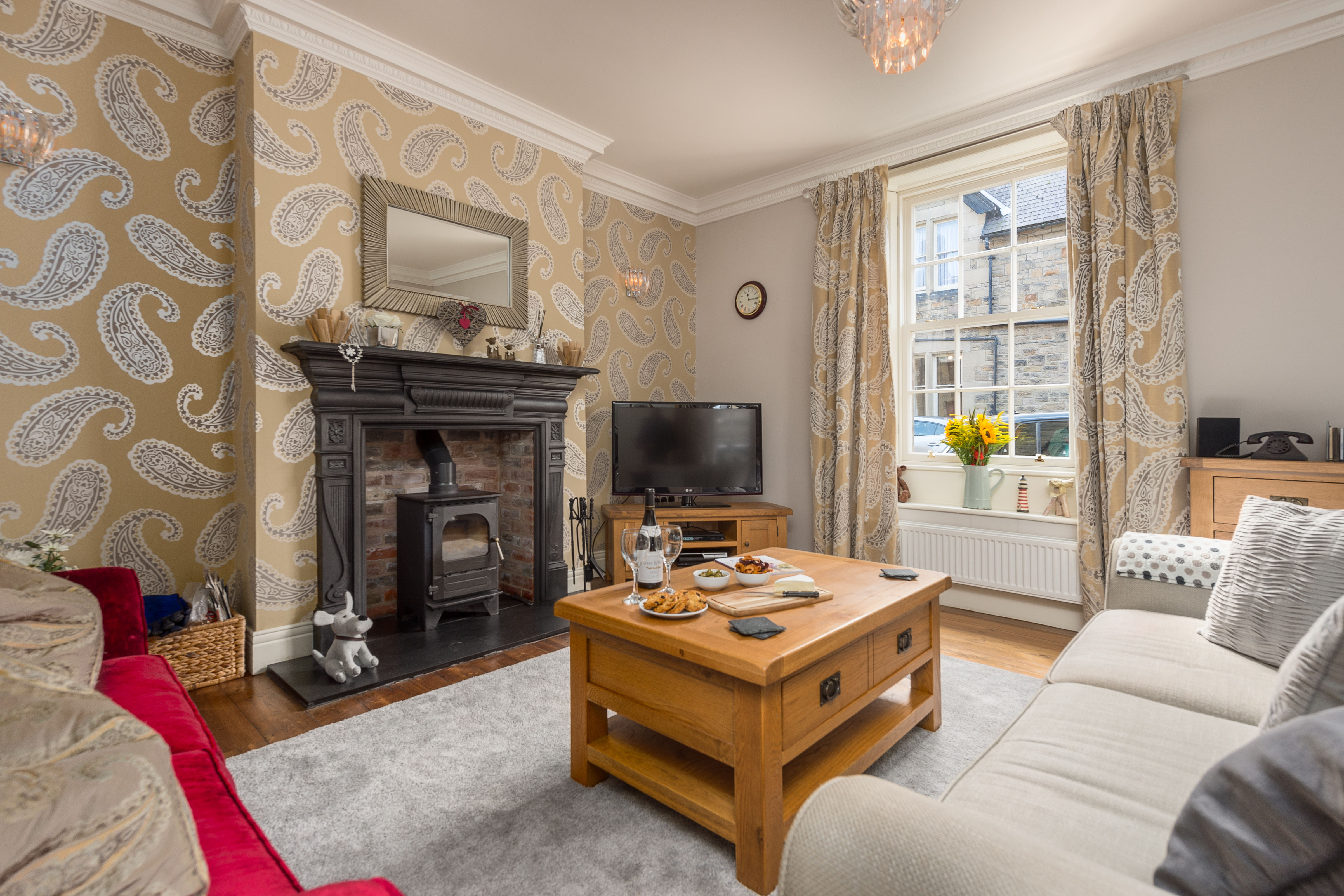 Barter Books in Alnwick, holiday accommodation for couples, large cottages for couples, luxury cottages for couples 5 star, dog friendly cottages near Alnwick Northumberland