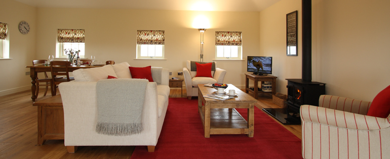 Luxury 5 Star Holiday Cottage with a view in Bamburgh