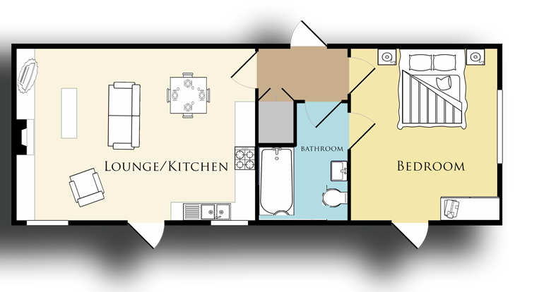 Curlew cottage at bamburgh for Floor plan virtual tour