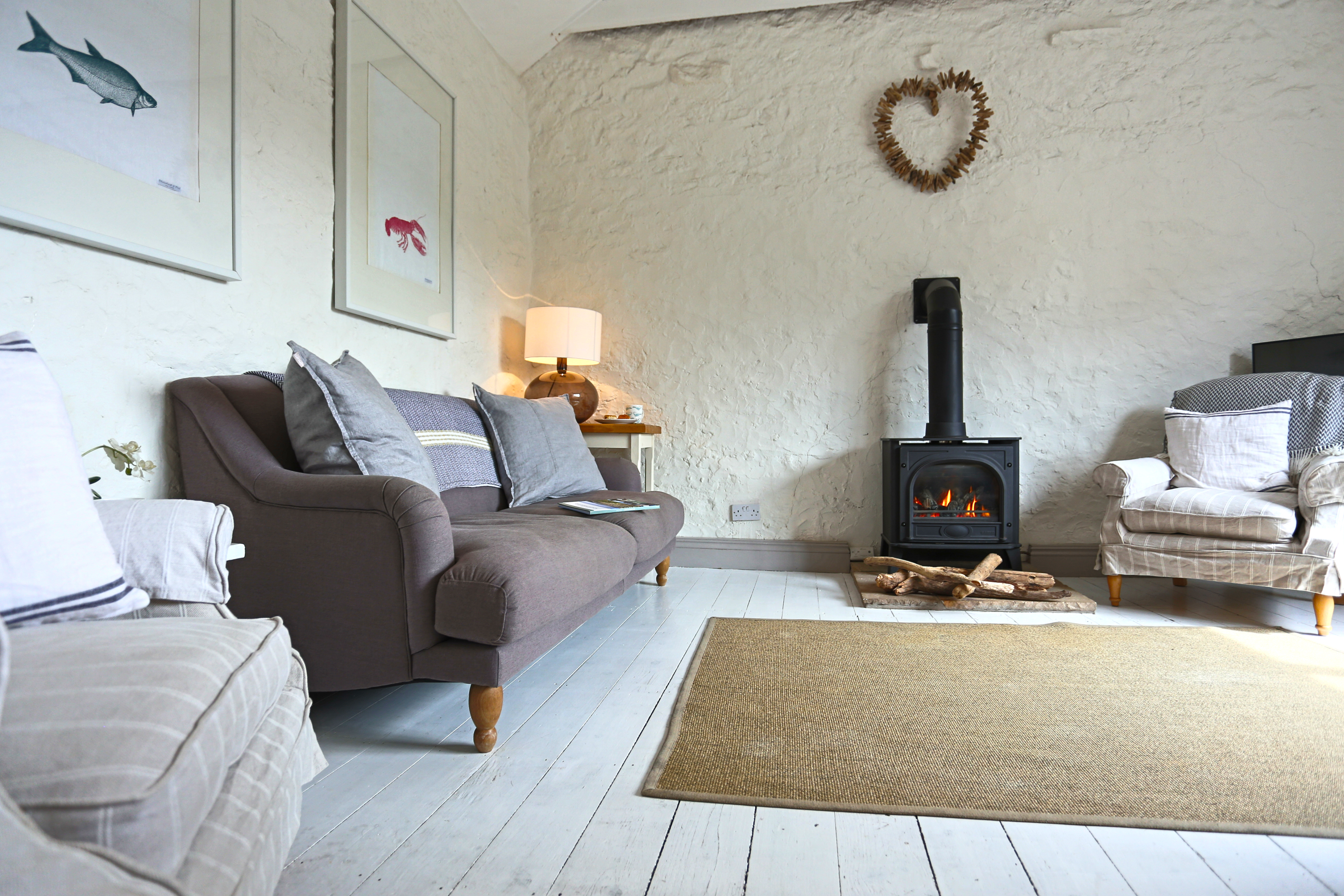 romantic places to stay in Northumberland on the coast