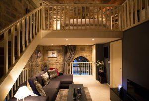 Pottergate Tower Lounge Mezzanine Level Bedroom