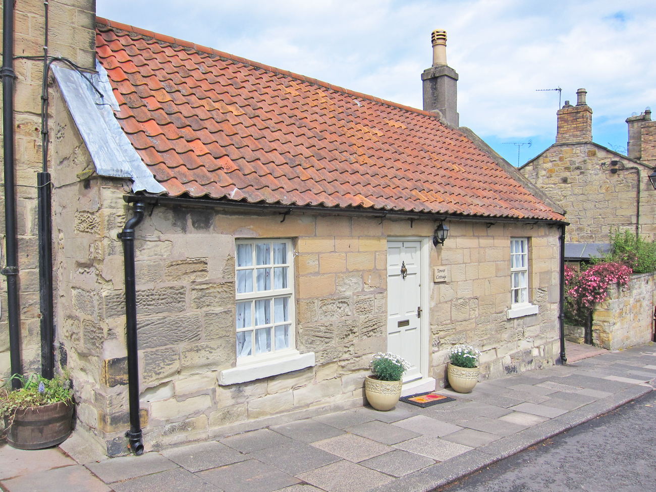 luxury romantic holiday cottages for 2 in Warkworth Village Northumberland pet friendly