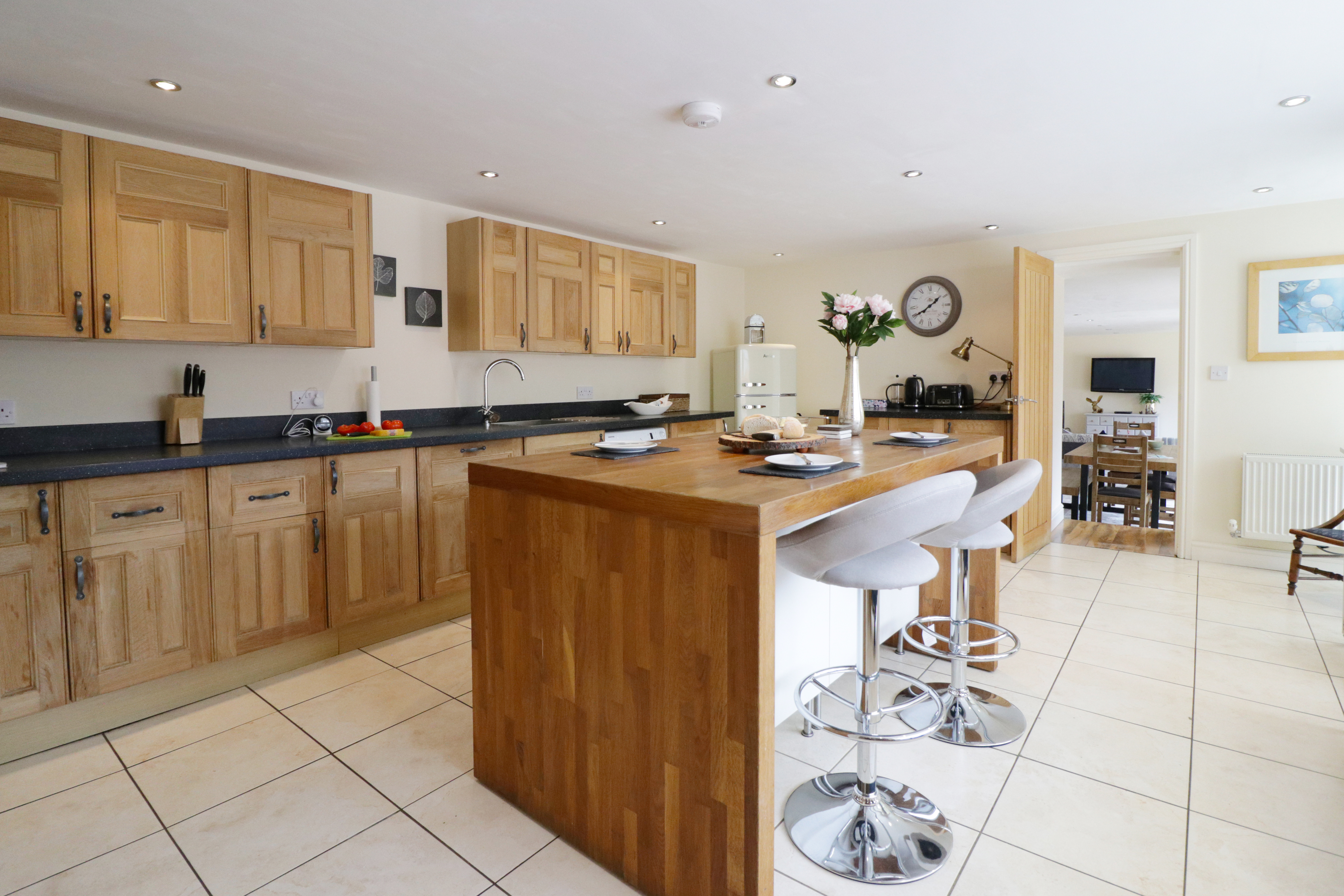 The Barns holiday cottage in Northumberland Otterburn family friendly pet friendly luxury holiday cottage