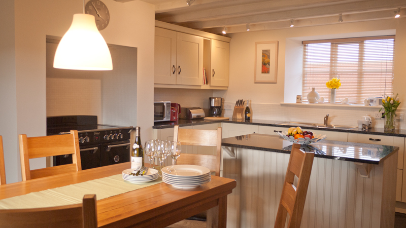 The Shiel luxury holiday accommodation pet free with a real fire, cottages for walkers with walks from the doorstep