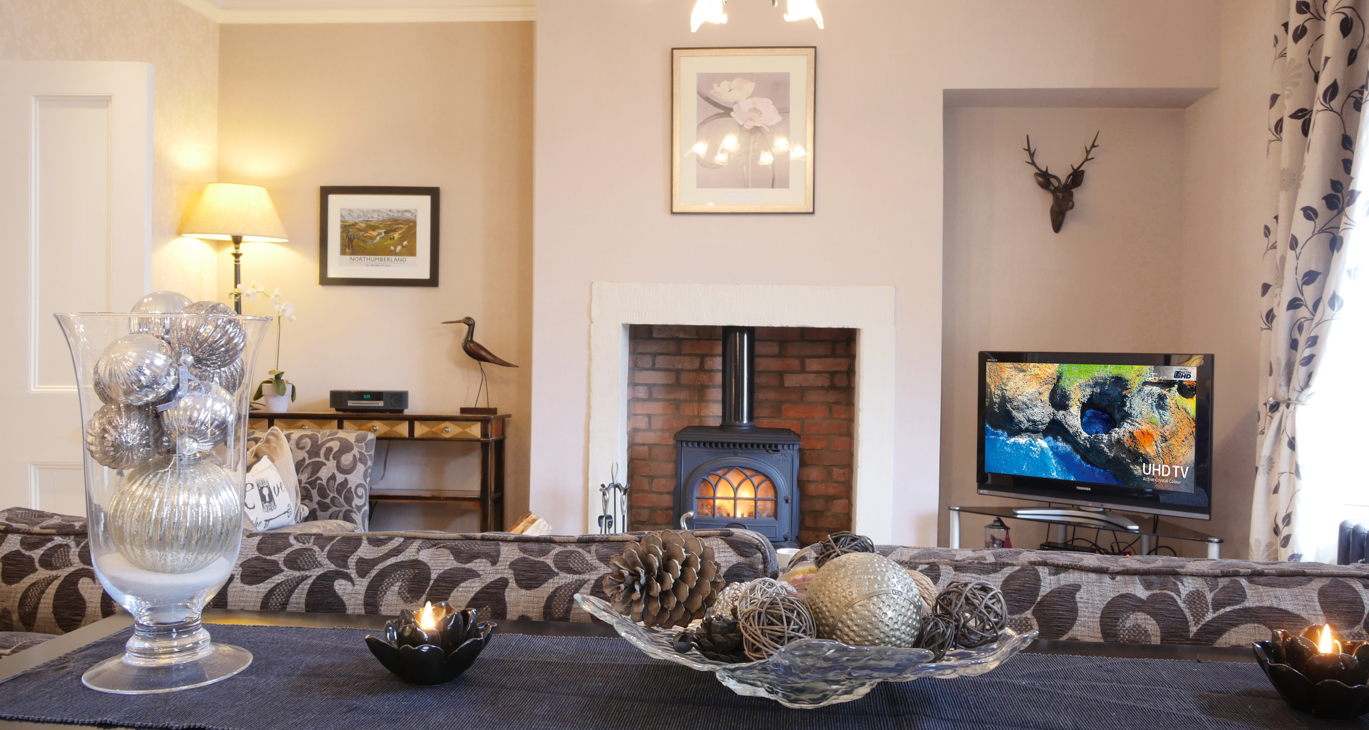 5 star luxury holiday cottage accommodation in Northumberland