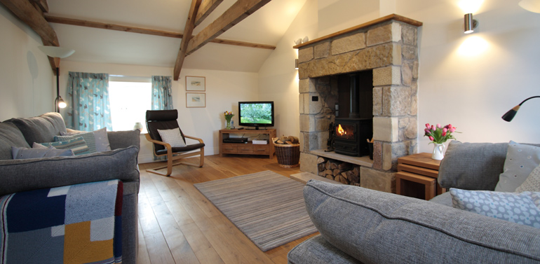 luxury cottages with wood burning stoves in the countryside