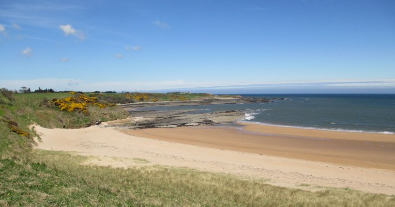 Sugar Sands beach northumberland, hidden beaches of Northumberland