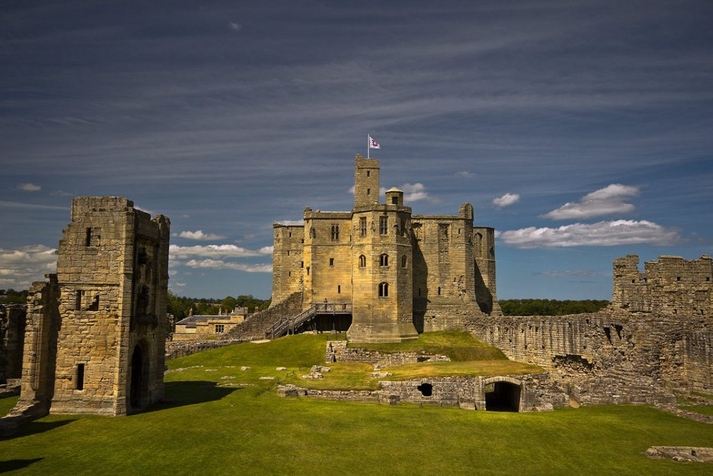 Visit Warkworth Medieval Castle. Stay in Luxury Self-catering Accommodation near Warkworth Castle.