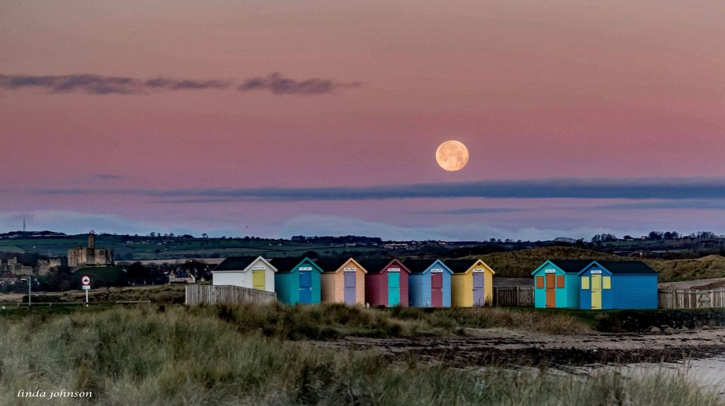 linda johnson photo credit amble beach huts