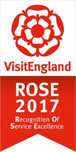 Visitengland Rose Award winning holiday home