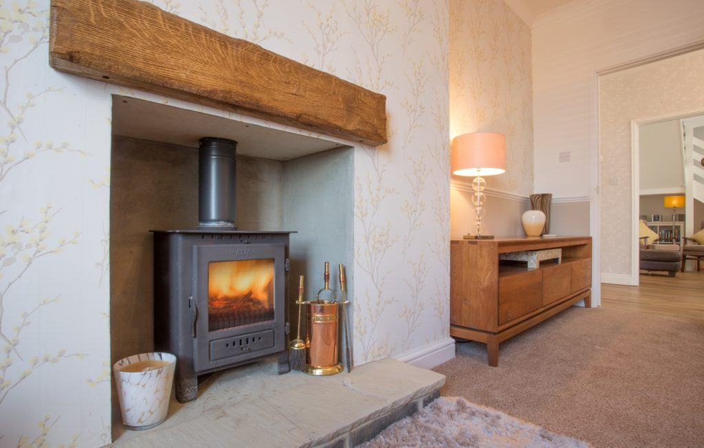 cottages with wood burning stoves real fire in amble dog friendly amblers rest