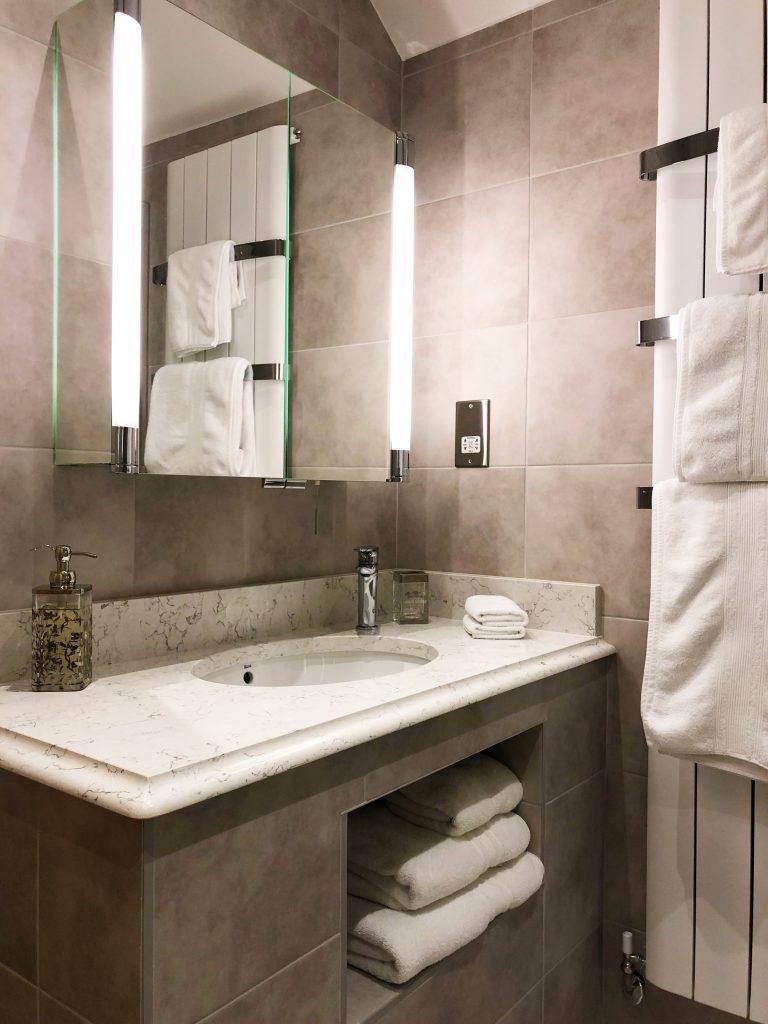Honeybee Cottage luxury en suite shower room to bedroom one
