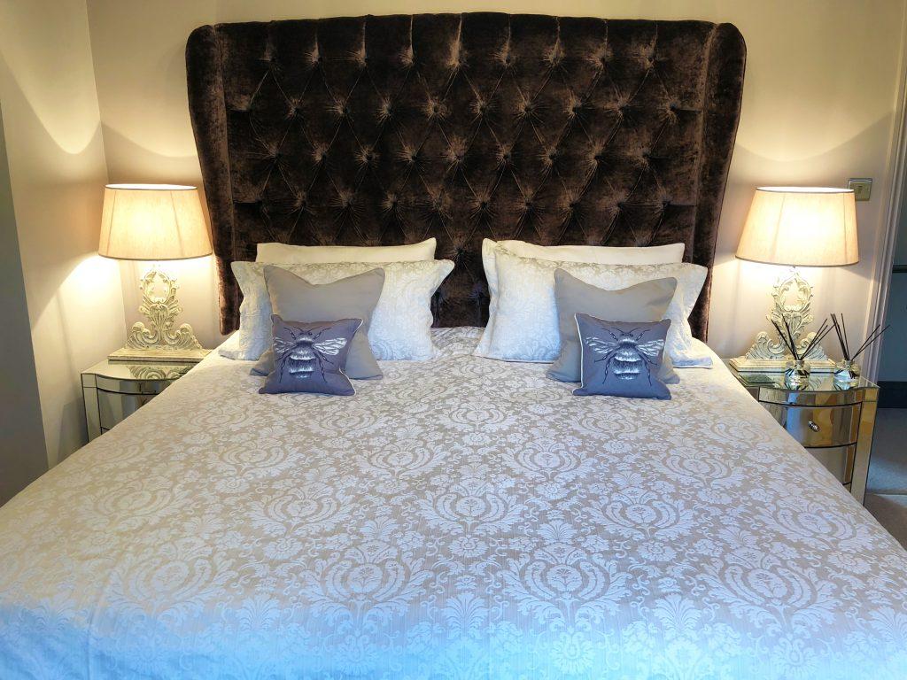 Honeybee Cottage bedroom 1 luxury holiday Warkworth Northumberland near Alnwick and the beach