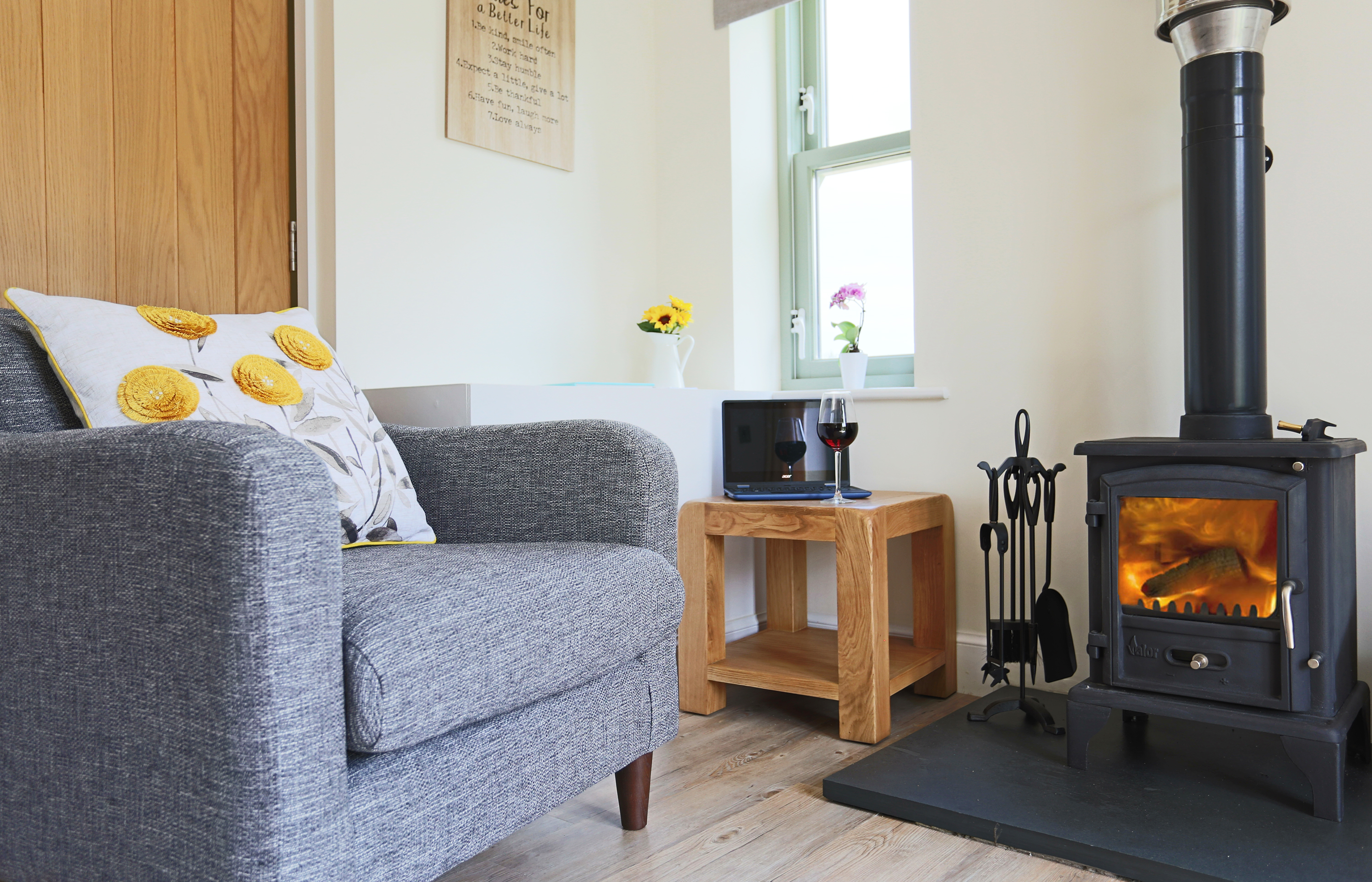 Sunflower Cottage In Northumberland Luxury