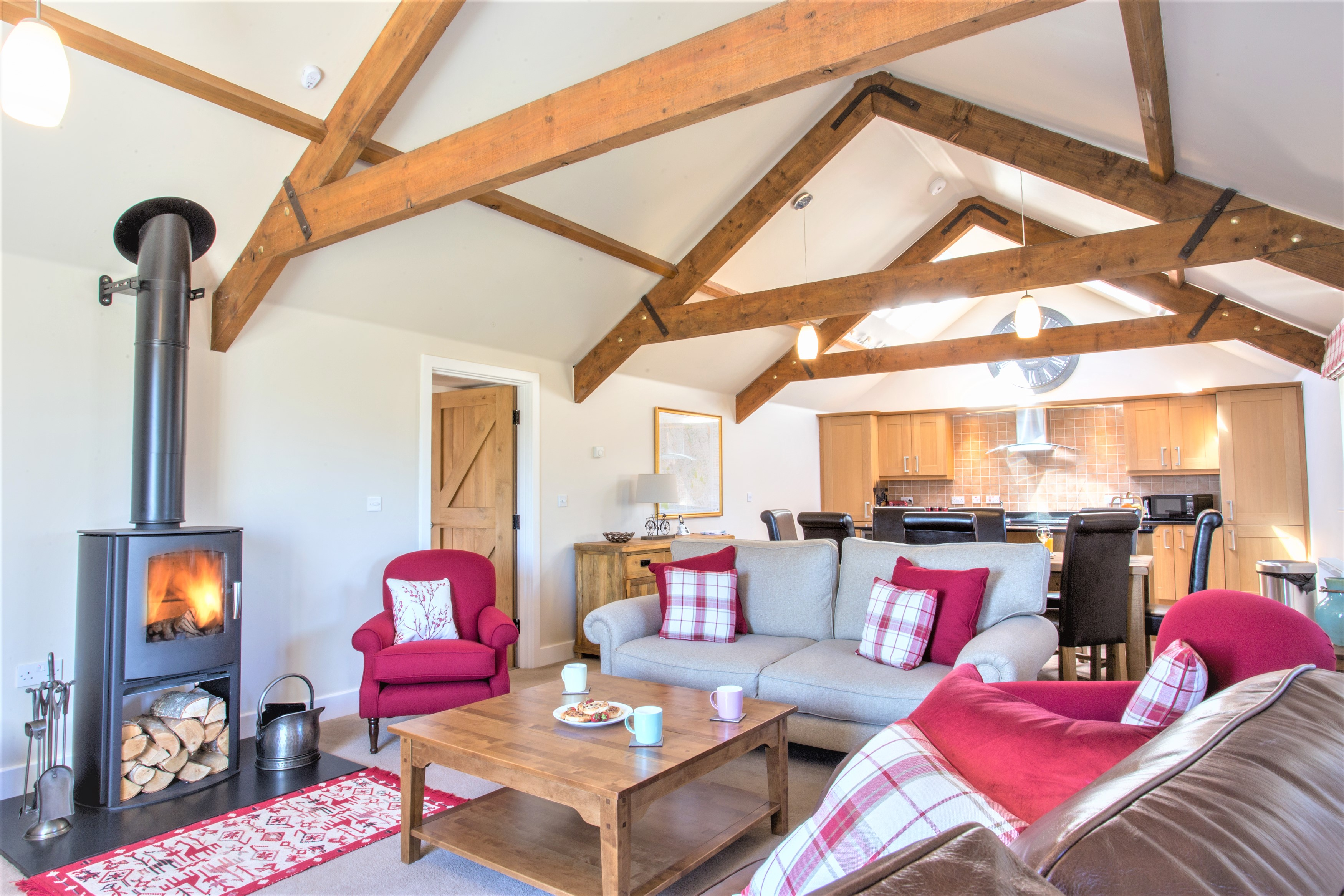 luxury holiday cottages available in the summer for families, holiday cottage in Northumberland available for Easter