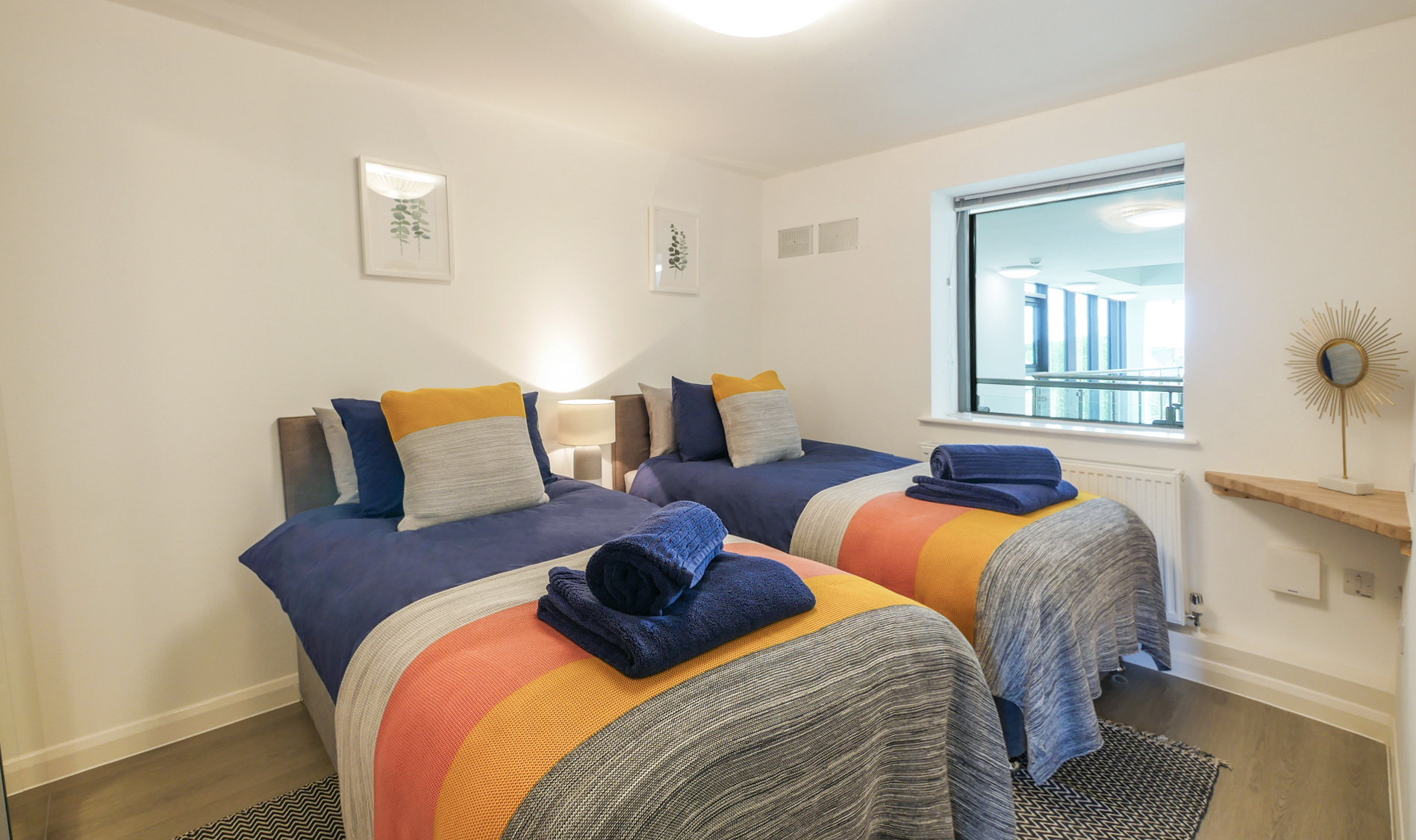 luxury accommodation in Alnwick for couples and pets, best boutique accommodation Northumberland 5 stars