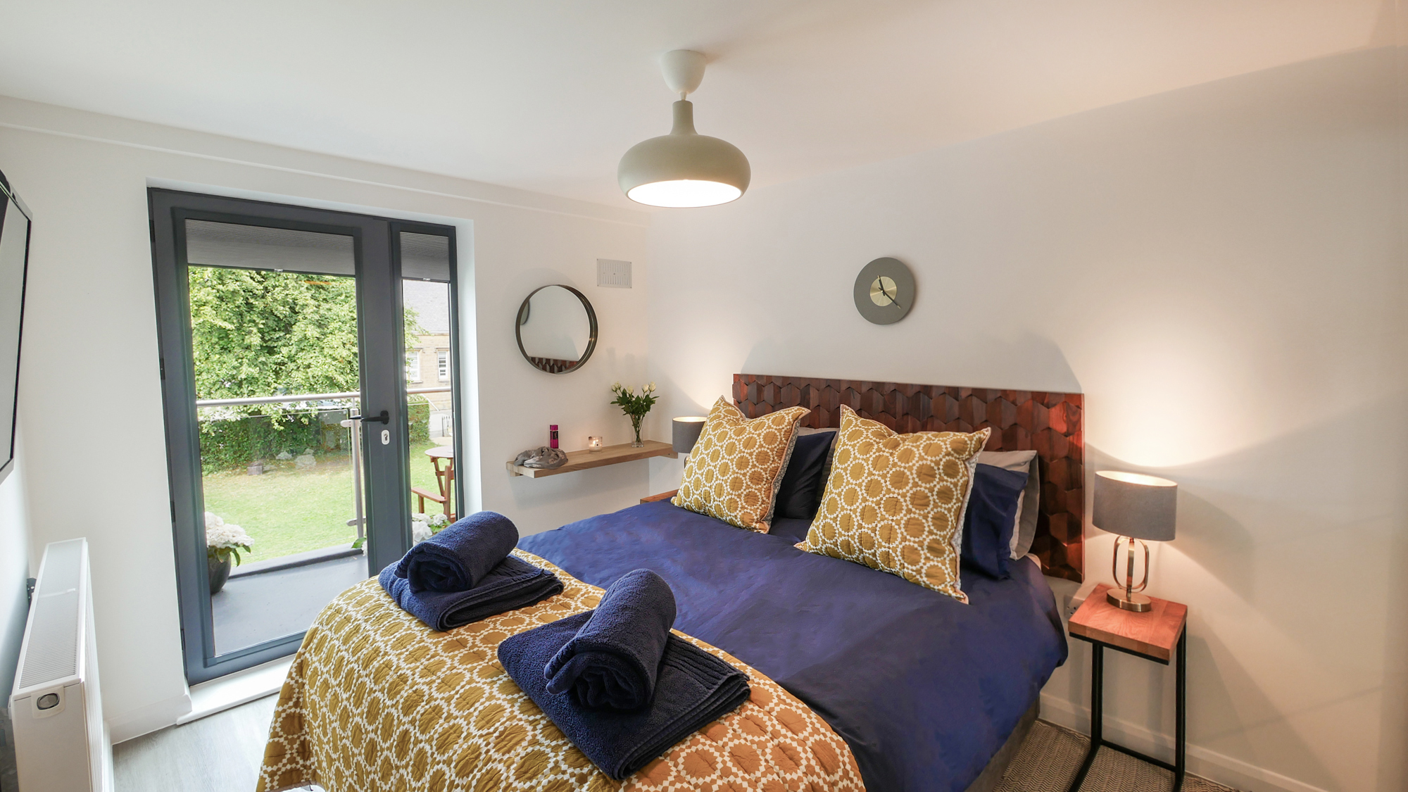 boutique romantic accommodation in Alnwick Northumberland pet friendly for families