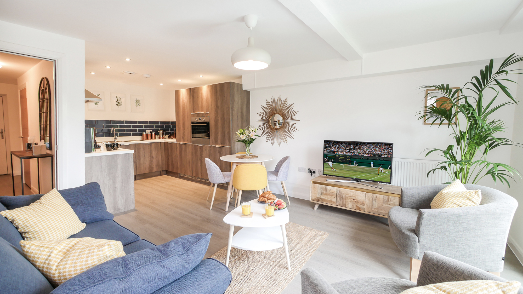 boutique apartments for rent in Alnwick cool places to stay in Alnwick Northumberland